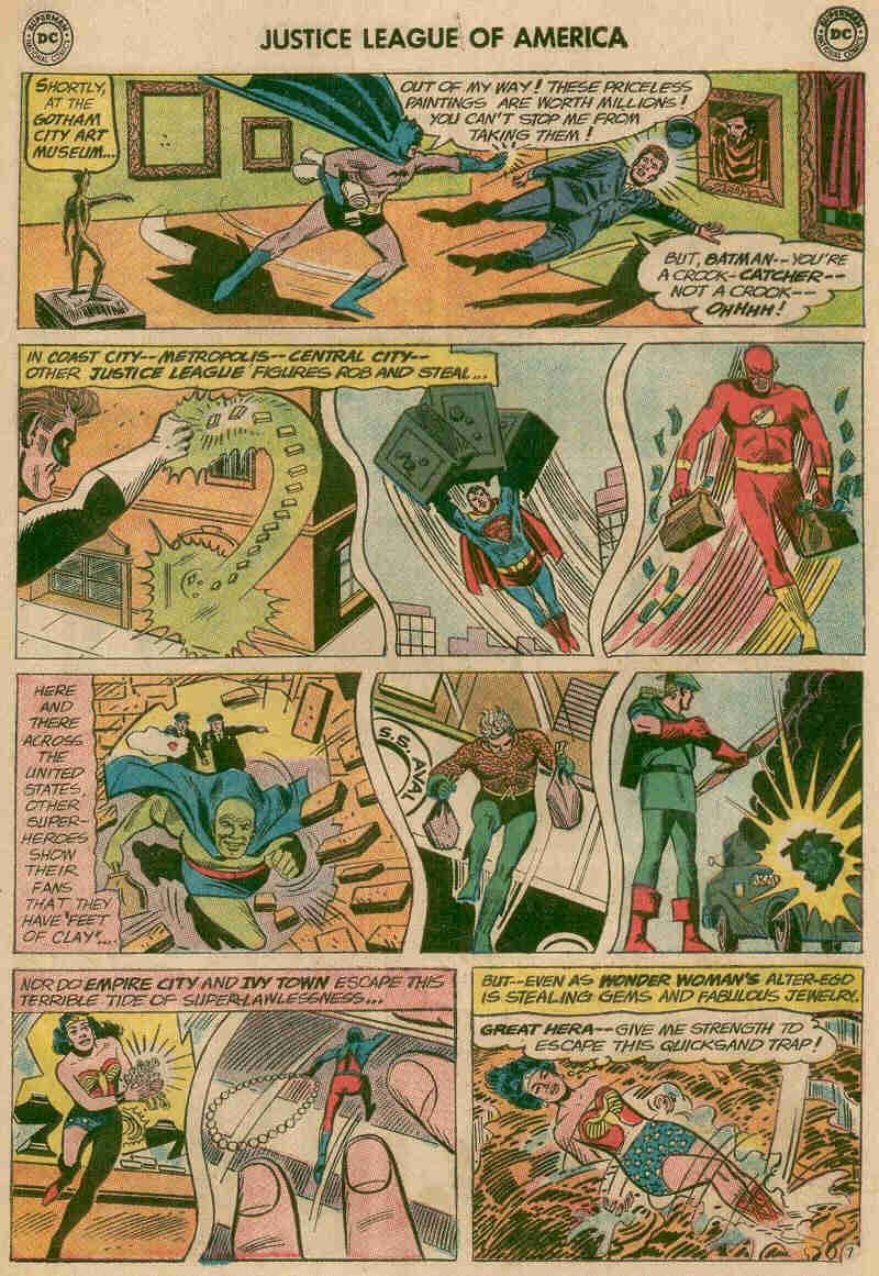 quicksand in books comics ect