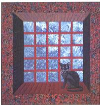 Inspiration For An Attic Window Quilt