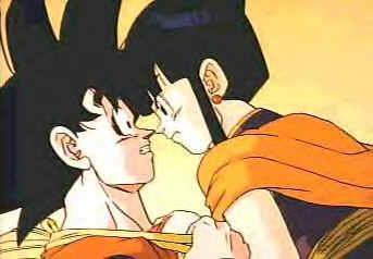 Kiss chi ball Dragon goku chi and