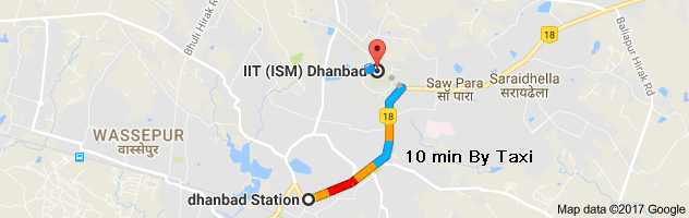 Rames New Document Title - Dhanbad map