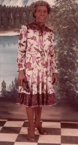 My mother agatha bowlin on 62nd birthday