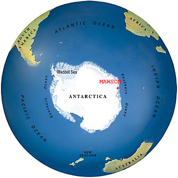 Adventure Antarctica Ray does Mawson 20032004