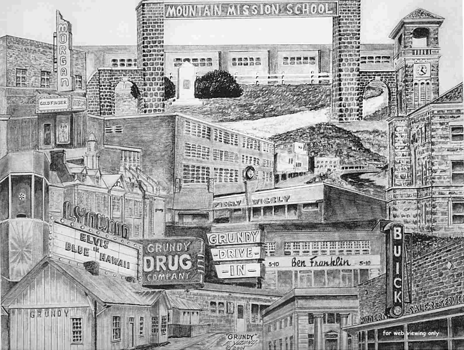 Pencil drawing buildings for Building drawing online