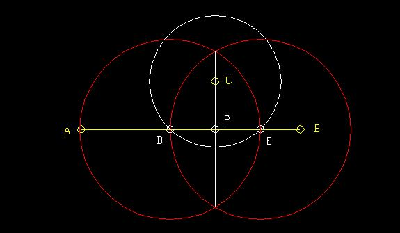 Drawing Parallel Lines With A Compass : Other constructions