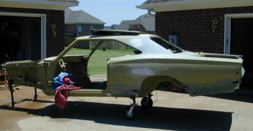 1968 Dodge Coronet Restoration Page