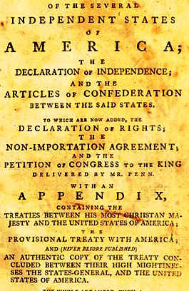 what did the articles of confederation established among the states