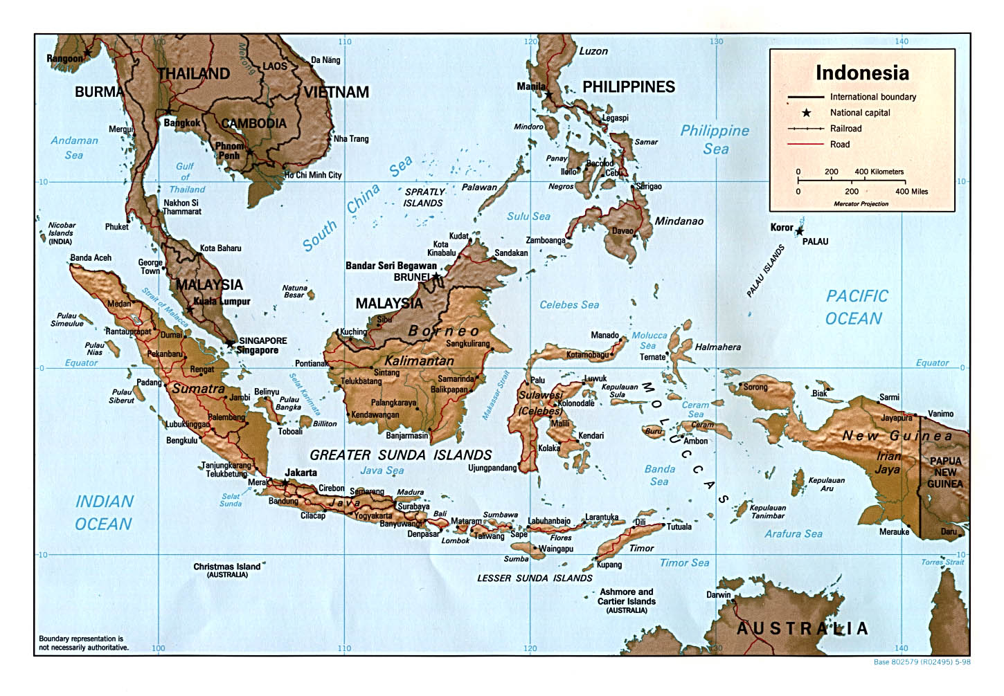 Climate Map Of Indonesia INDONESIA
