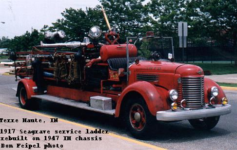 Seagrave Fire Apparatus >> Seagrave Chain-Drive Fire Engines