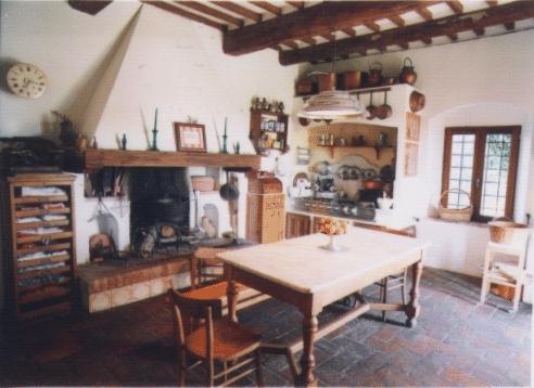 Awesome Cucina Rustica Con Camino Pictures - Home Interior Ideas ...
