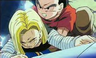 krillin and android 18