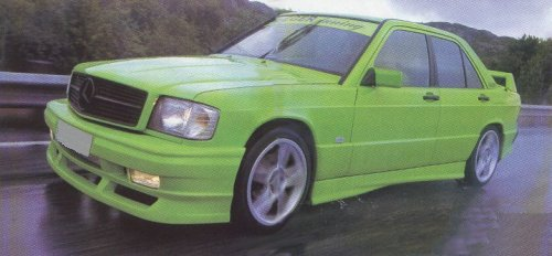 The mercedes benz w201 page for 190e rear window spoiler