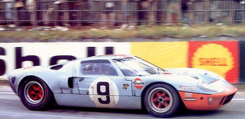 great racing cars ford gt40 jwa gulf page 1 of 4. Black Bedroom Furniture Sets. Home Design Ideas