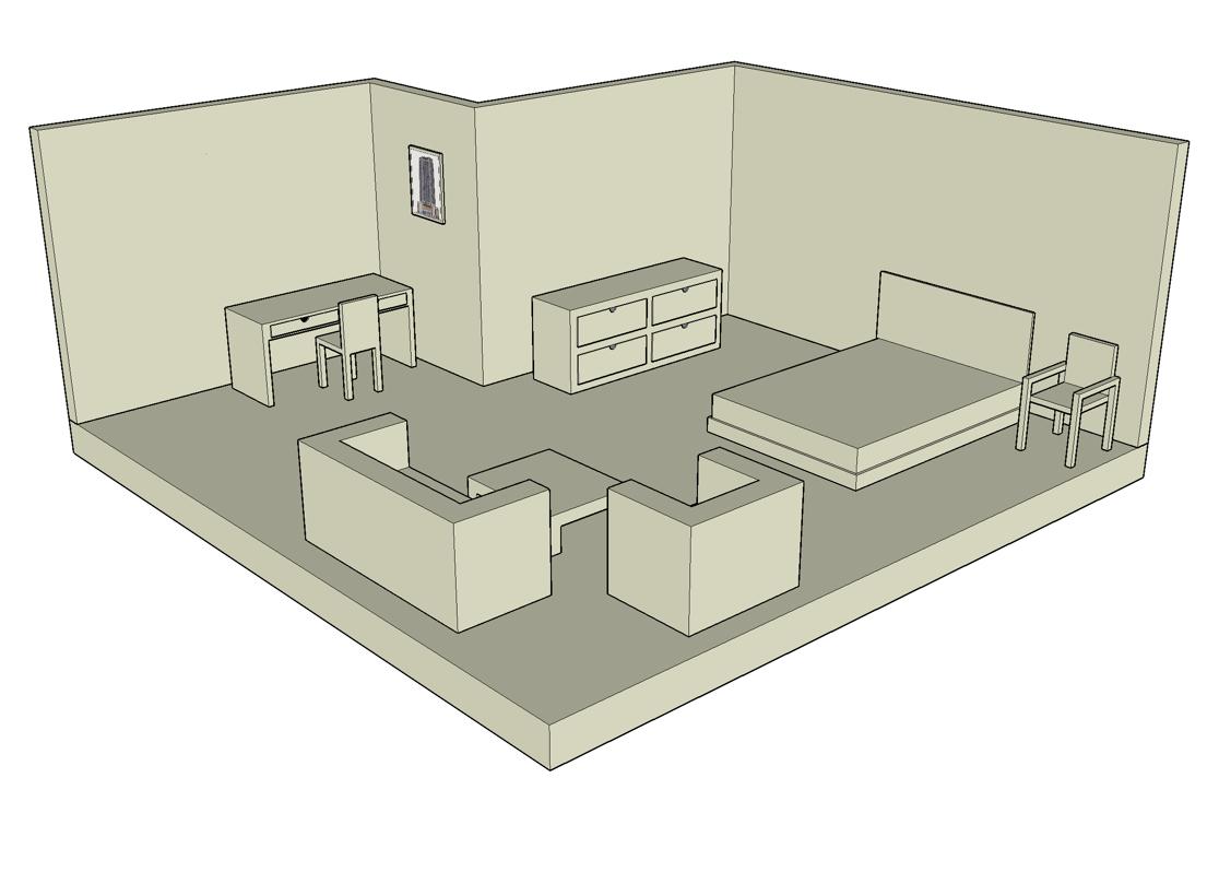 Sketchup Room Gallery