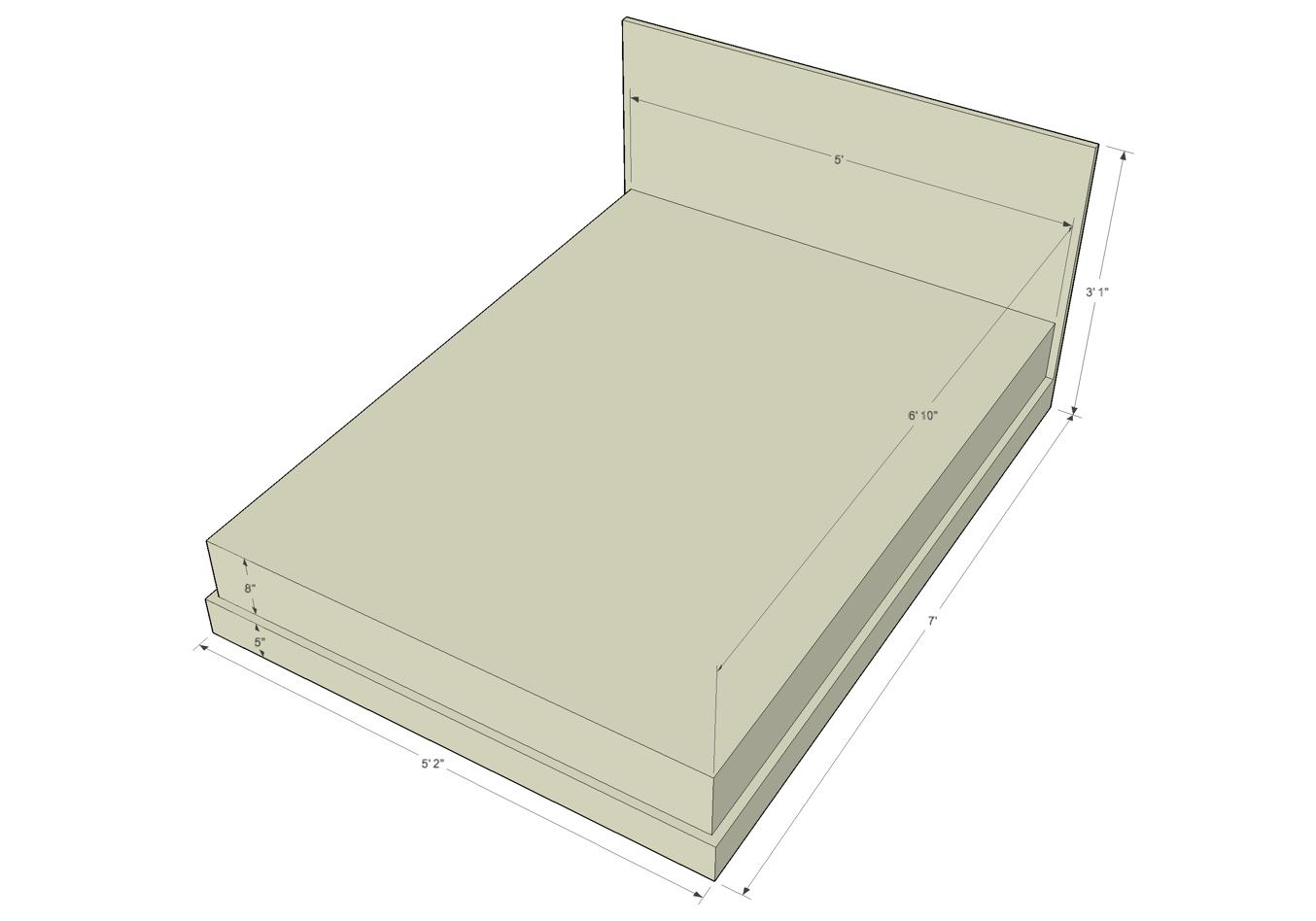 Average Dimensions Queen Mattress
