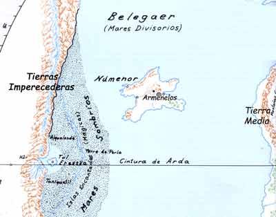 Resultado de imagen de Isla de Númenor