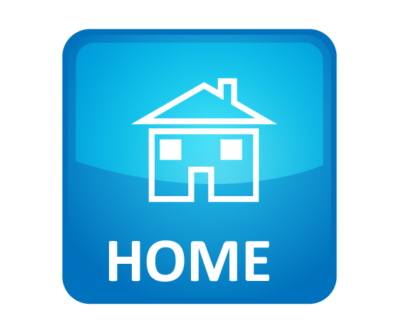 Home Icons For Website Blue home icon@Share on home ...