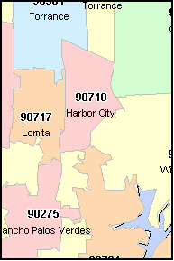 Area Code For San Pedro Ca