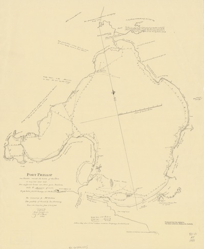 Charles Grimes Map 1803