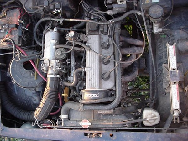 Motor on Suzuki Esteem Transmission Wiring Diagram