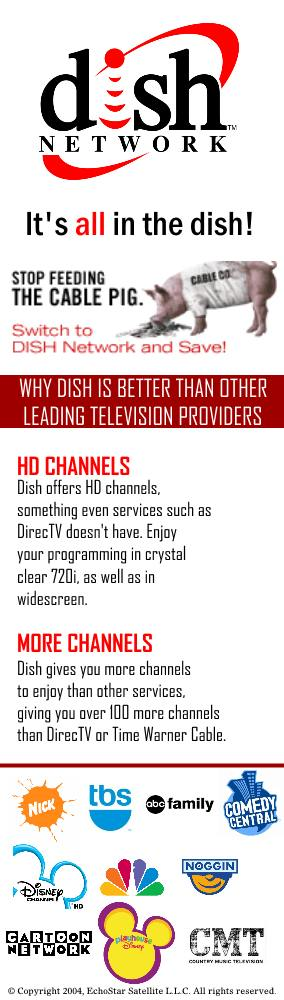 Dish Network: It's all in the dish!