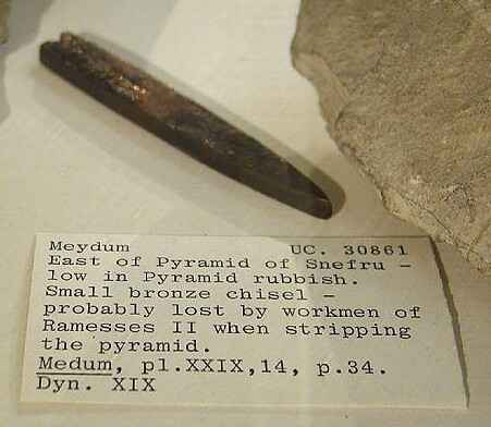 Ancient Egyptian Stoneworking Tools And Methods Stone
