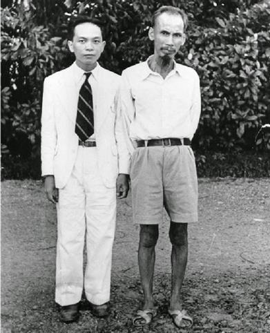 HCM với Võ Nguyên Giáp năm 1944