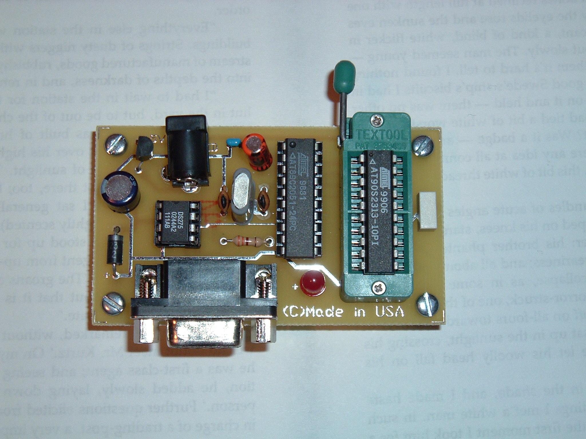 AVRHTP 1 AVR HyperTerm Programmer