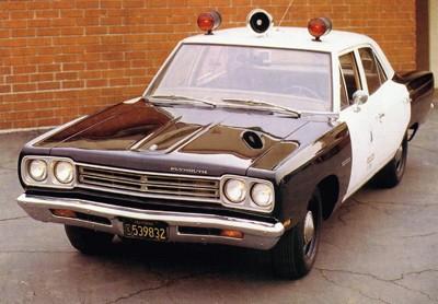 1969 Plymouth Belvedere (Adam-12 lookalike)