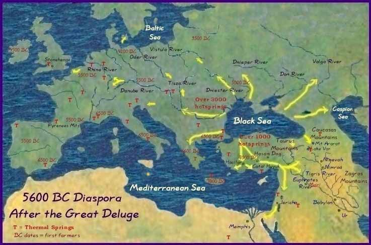 Image result for black sea flood