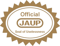 JAUP seal of approval