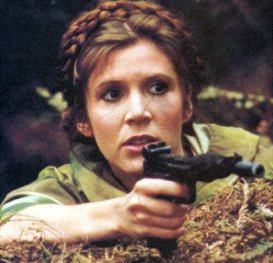Image result for princess leia fighting