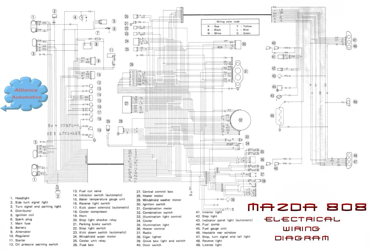 Mazda Rx3 Wiring Diagram Wire Center 1993 Rx 7 Schematic Schematics Diagrams U2022 Rh Theanecdote Co 323 1992 626