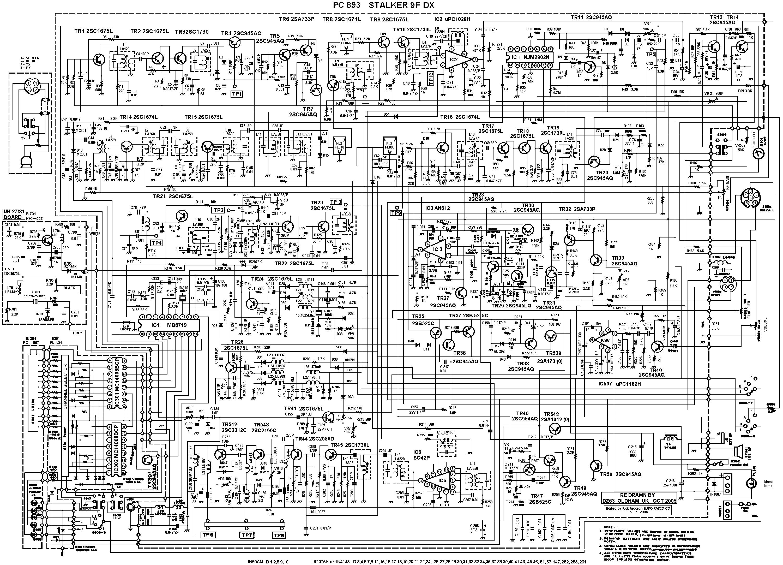 Radio Diagram Circuit Am Fm Receiver Using Ta8122 Integrated Ic Cb Manuals And Diagrams Shortwave